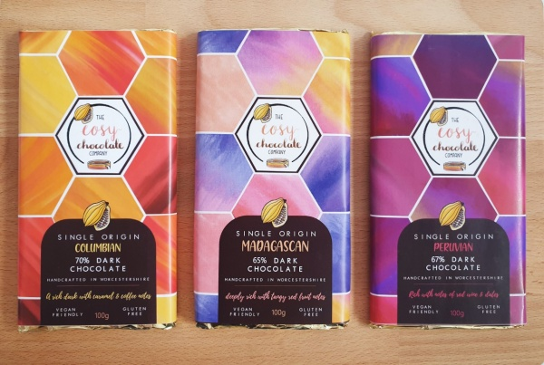 Tasting Set of 3 Single Origin Bars